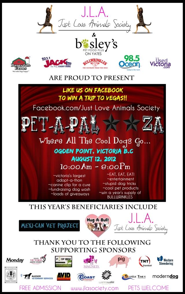 Pet a Palooza Poster